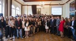 Pokaż album: Wizyta premiera Donalda Tuska w Liceum Skłodowskiej